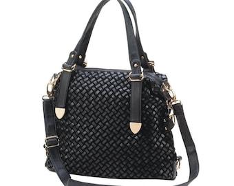 JetSet Black Shoulder Bag