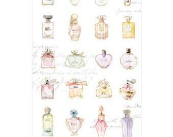 Cute Planner Stickers, Perfume Bottles Sticker, Cute Scrapbooking, Decoration, Journal Stickers
