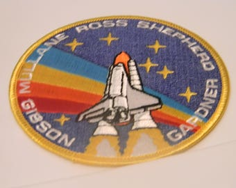 nasa patch gibson,ross,gardner,shepard