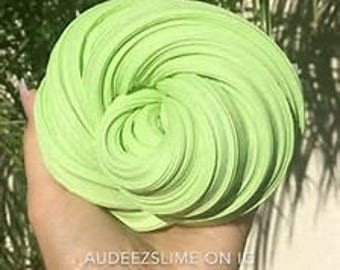 Lovely Leaves Fluffy Slime