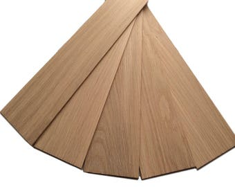 American White Oak Wood Panels (100 x 450mm) Various Sizes Available