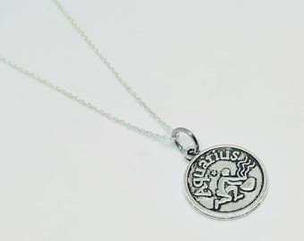 Astrology Necklace - all signs - tibetan silver - sterling silver - leo - Pisces - capricorn - virgo - Sagittarius - Aquarius - Aries - Canc