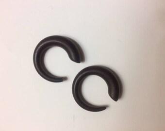 Wooden Spiral Gauges - Size 4G (3/16 inch)