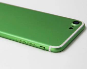 iPhone 7 Green with White Lines