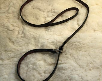 Leather slip lead.