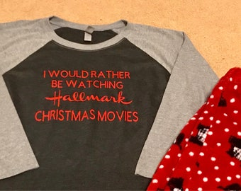 I would rather be watching hallmark christmas movies