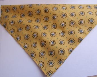 Mustard flower   Dog bandana
