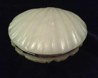G.S.E OTTONE GARANTITO Shell dish with lid-Marble