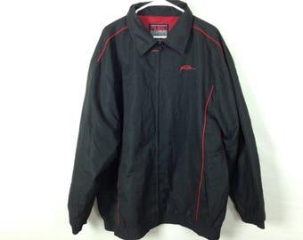 Black fubu windbreaker jacket size XXL