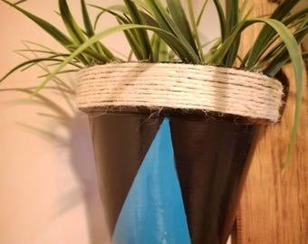 Geometric Color Pop Flower Pot