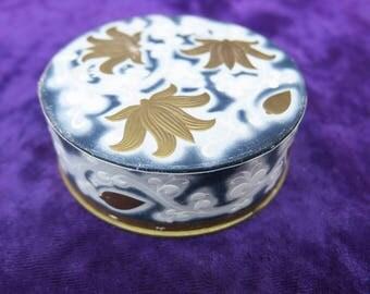parfumerie Lancôme, boite à poudre ancienne de collection-Lancôme perfumery, collection antique powder box,  Sammlung antike Puderdose