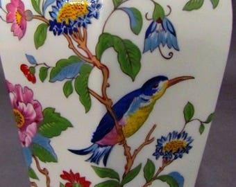 Listing 104 is an Aynsley England Pembroke Lidded Vase