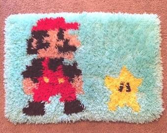 Floor Mat Mario Star