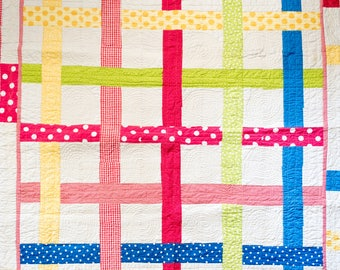 Polka Dot Handmade Quilt