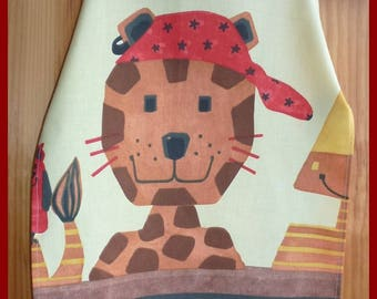 "Apron for children ""My little tiger"""