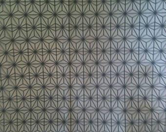 Fabric, Scandinavian, Eastern Sun, silver, Thévenon