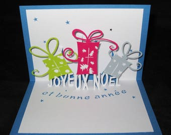 Merry Christmas and happy new year card gifts