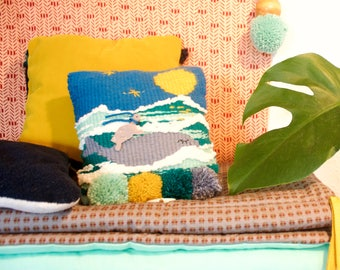 cushion musical whale and turtle