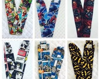 Avengers - Batman - Wonder Woman - Spiderman - Black Widow - Batarang- Stethoscope Cover - Sock - Comics - Marvel - Nurse -Paramedic - Gift