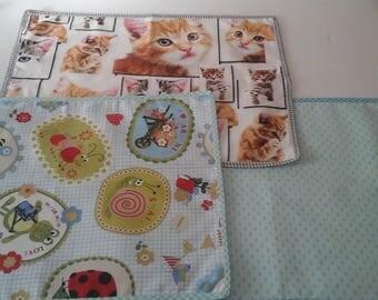 Tablemats kindergarten, school