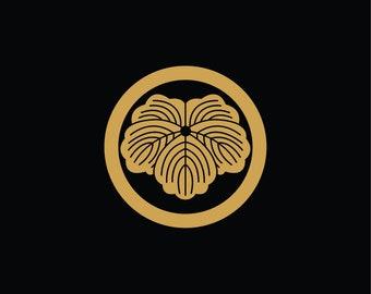 Sticker Kamon Ivy (ref KA17).