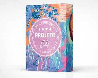 Projeto 54 - 6th edition - Playing cards deck