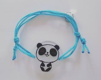 Character cord bracelet
