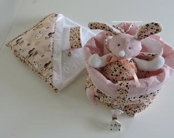 Baby gift box made of cotton