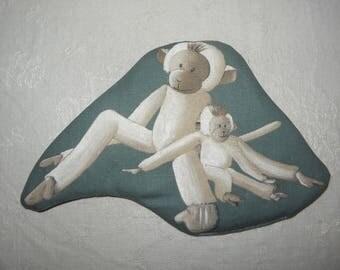 """Monkeys"" ref.1566 cotton heating pad"