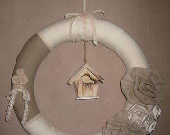 Free shipping! large Crown shabby style