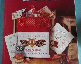 Crosstitch magazine in french, CHOUETTES Then ! ( owls)