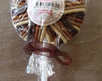 Lovely lollipop hair ties