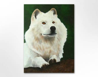 Image original canvas painting acrylic pictures art painting unique hand painted dog