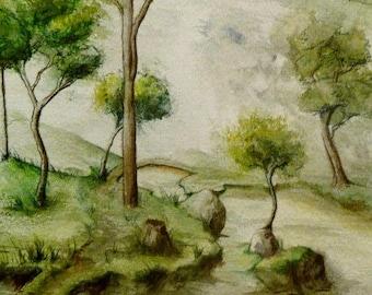 Surreal landscape?