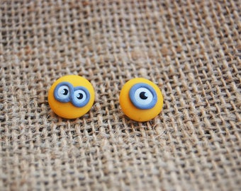 Despicable Me Minions Earrings