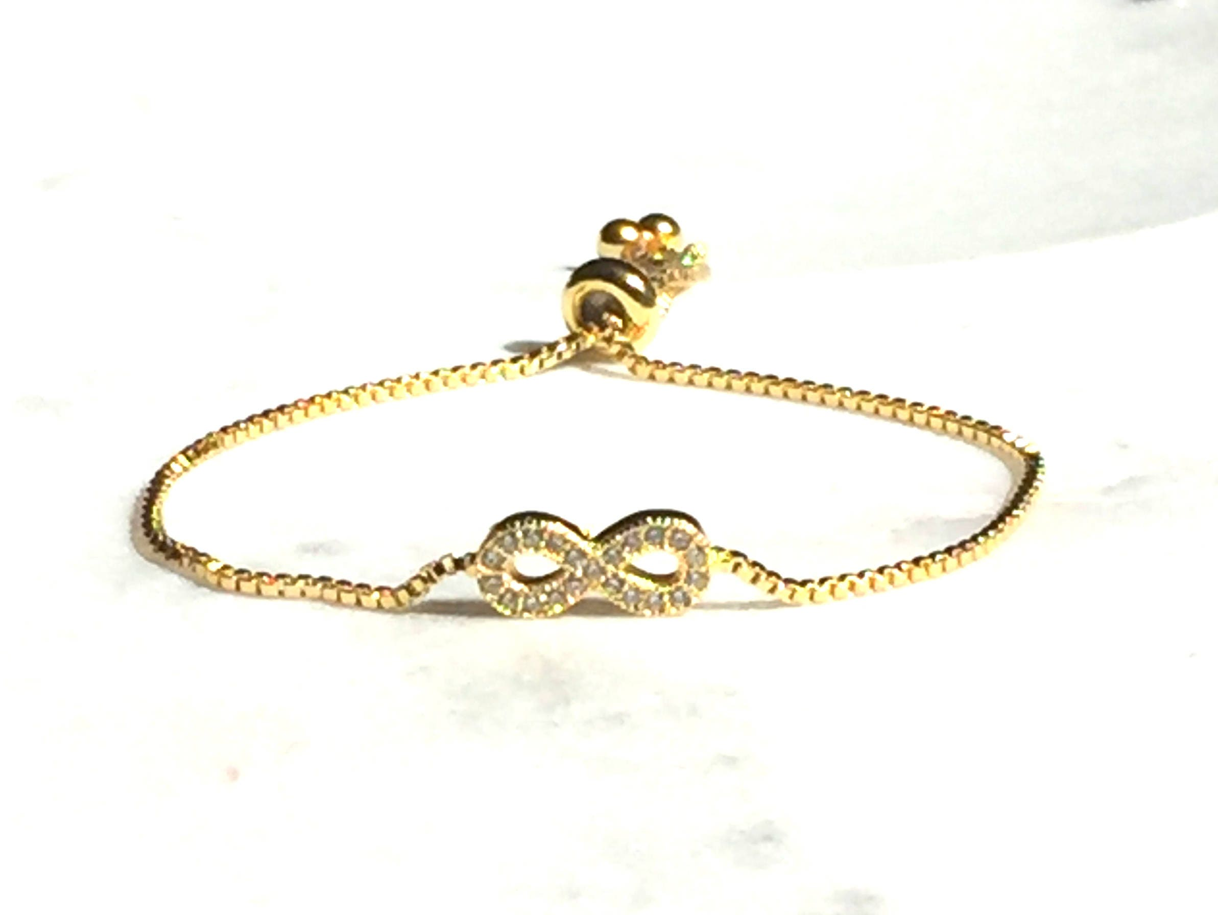 brass link with plated ladies brc diamonds white diamond bracelet gold accents yellow style infinity