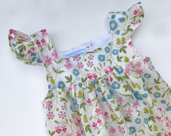 3/4 years - dress Fanny Butterfly Liberty Mirabelle