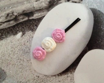 Bouquet of roses hair clip