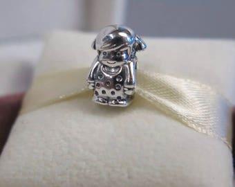 Genuine Pandora Precious Girl Charm 791531