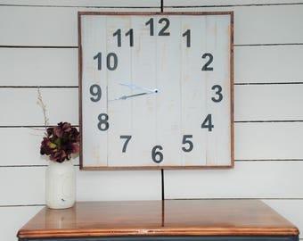 Shiplap Clock