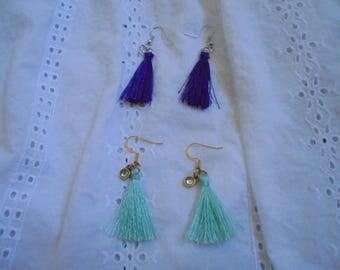 Tassle earrings