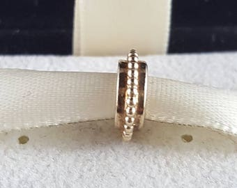 Pandora Retired 14k Gold Sun Spacer