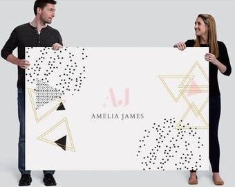 Amelia James Banner (LARGE - 4' x 6') | GEO