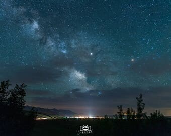 Milky Way over Afton, Wyoming ***Charity Photo***