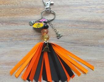 Halloween bag charm key chain