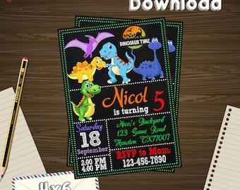 Dinosaurus Invitation, dinosaurus Birthday, dinosaurus Party, dinosaurus Printable, dinosaurus Editable, dinosaurus PDF, dinosaurus