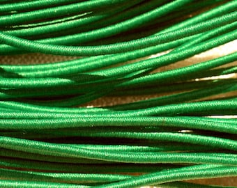 Skein 19 m - 5 wires 3.80 m elastic fabric 1 mm Green 4558550018519
