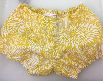 puffy baby mixed bloomer panties printed flowers