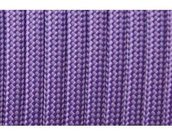 Paracord 550 type III length 1 m lilac