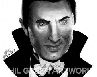 Count Dracula, Bela Lugosi, Dracula (1931) giclee print